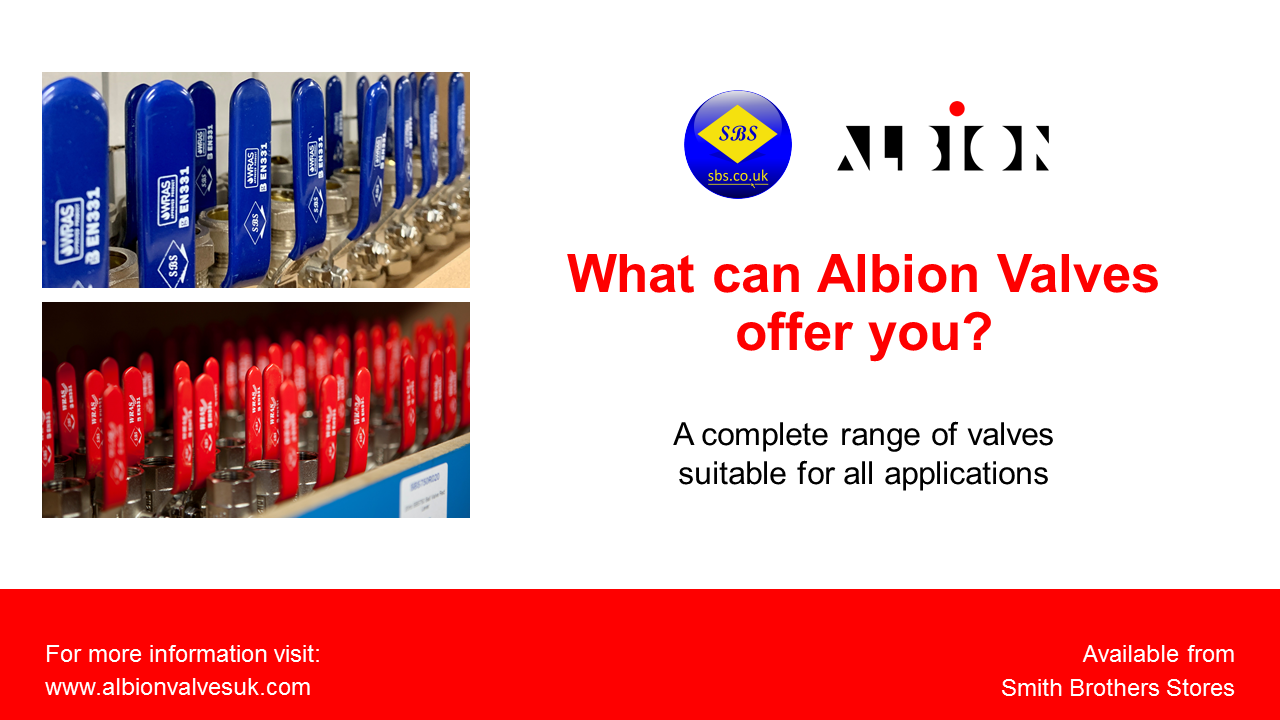 Albion Valve Range Video