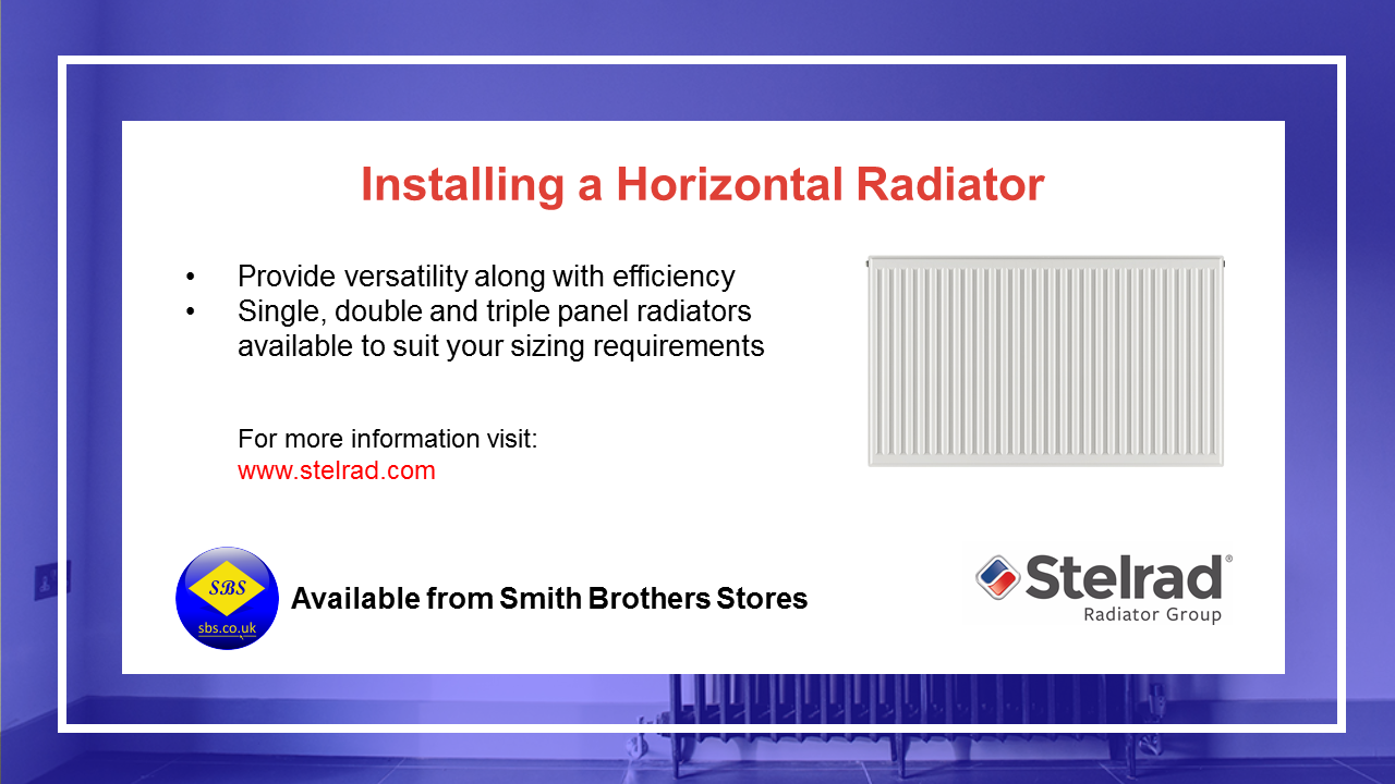 Install a Horizontal Radiator Video