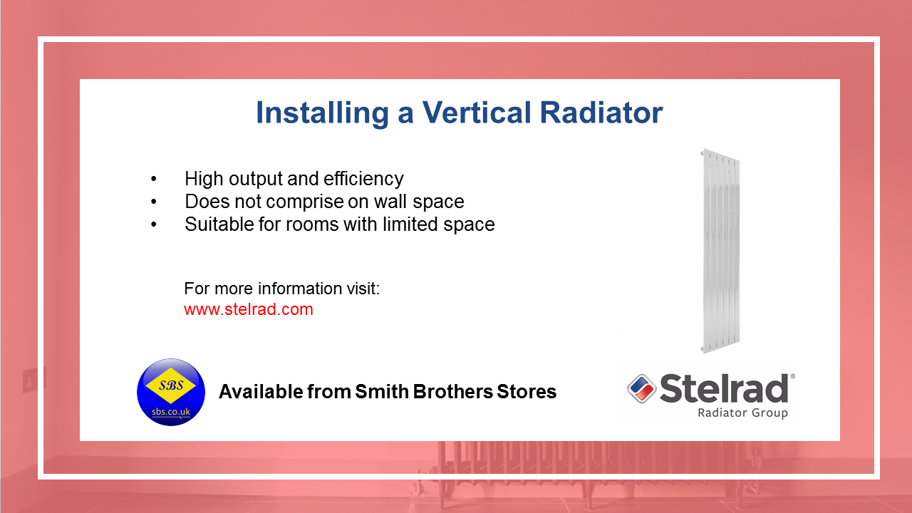Install a Vertical Radiator Video
