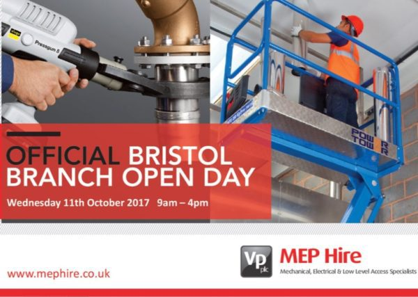 MEP Hire Bristol Open Day