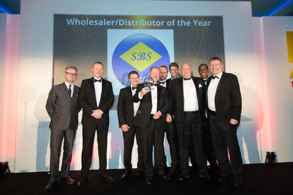 SBS win wholesaler distributor of the year HVR Awards 2019