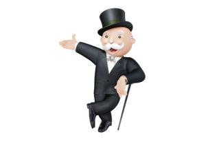 Mr Monopoly Man Pose