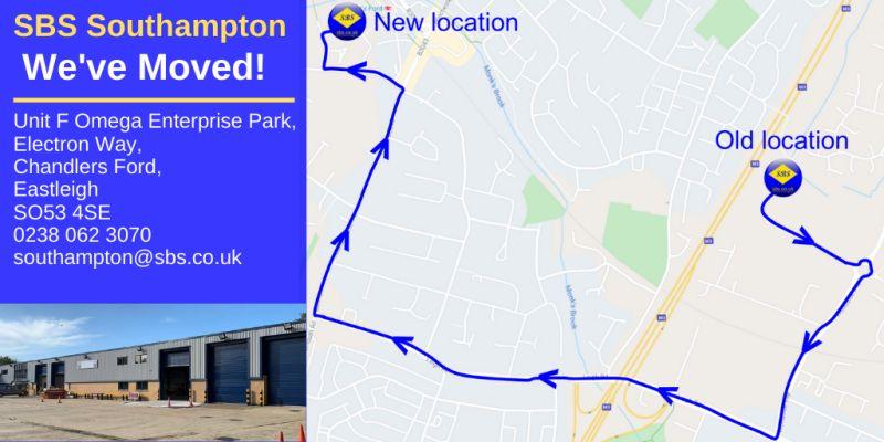 SBS Southampton - new location
