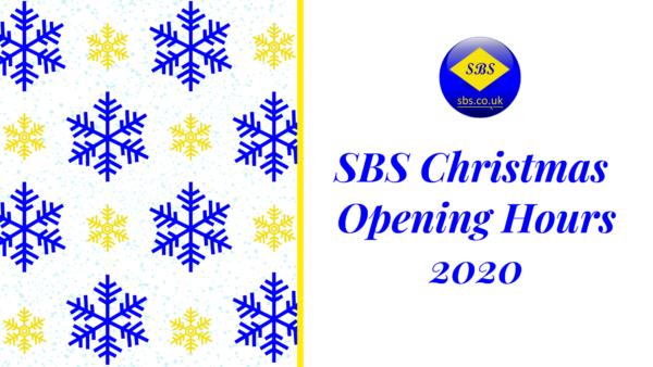 SBS Christmas Opening Hours 2020