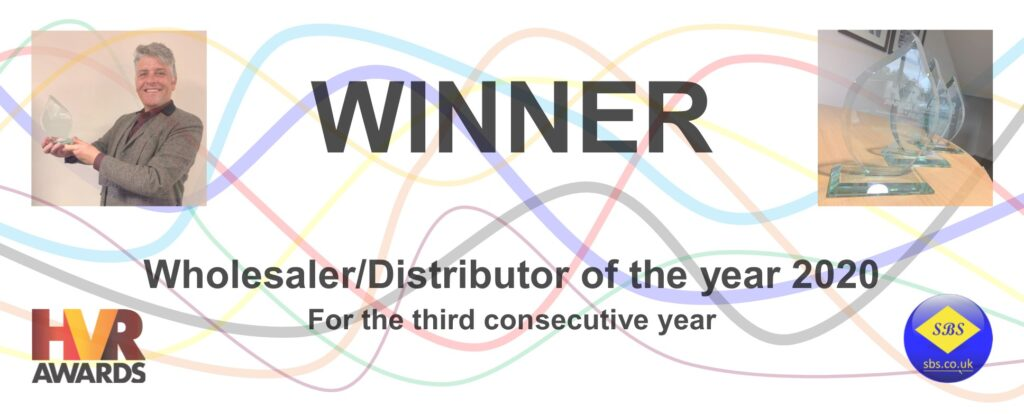 Winner of Wholesaler/Distributor of the year 2020
