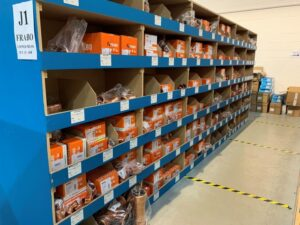 Frabo Products in Warehouse