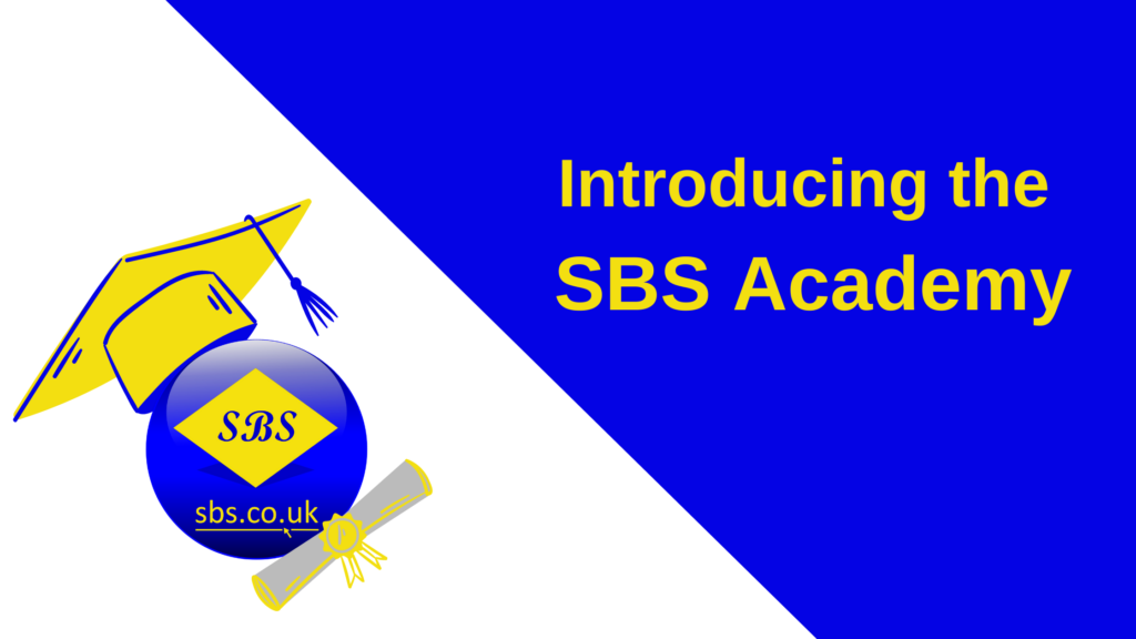 Introducing the SBS Academy