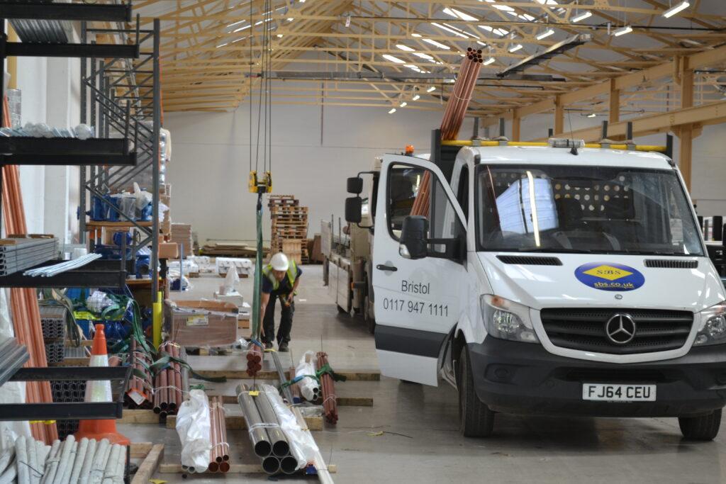 Loading Vehicle at SBS Bristol
