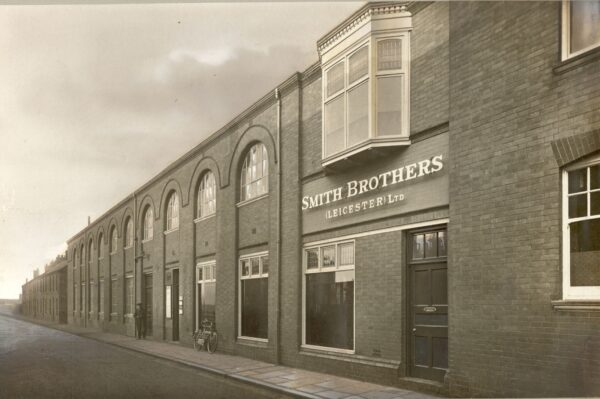 Smith Brothers (Leicester) ltd, Batten Street. Now the Head Quarters of Air Plants ltd.