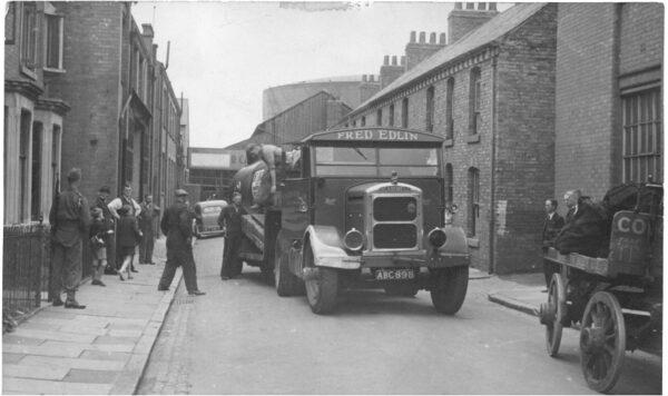 Batten Street during the 1920s.
