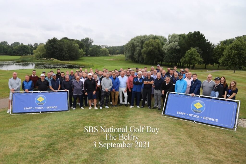 SBS National Golf Day Group Photo
